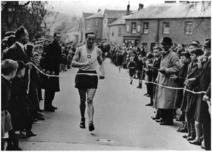 Bampton to Tiverton Road Race 1947.
