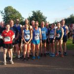 Run the Exe Summer 5k Series, Round 4 runners.